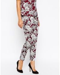 Oasis Floral Coord Pant - Lyst