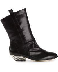 Atalanta Weller 'Drax Rushed' Boots - Lyst