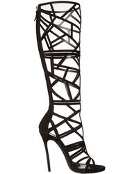 DSquared² Strappy Cutout Boot - Lyst