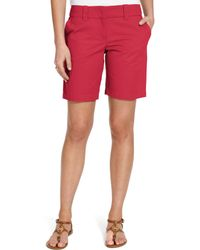 Tommy Hilfiger Chino Shorts - Red