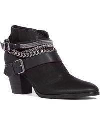 Dolce Vita Yazmina Boots In Onyx - Black