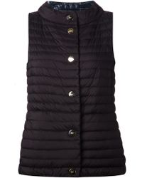Herno Reversible Quilted Vest - Lyst