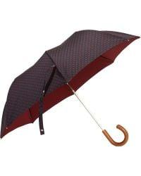 Barneys New York Mini Paisley Umbrella