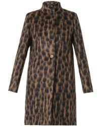 Max Mara Lauto Wool-Blend Coat - Lyst