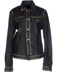 Diesel Black Gold - Denim Outerwear - Lyst