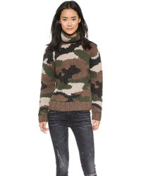 NLST - Camouflage Hand Knit Sweater - Camouflage - Lyst