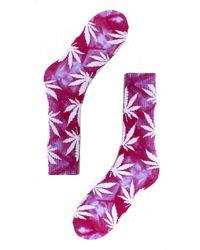 Huf Tie Dye Plantlife Sock - Lyst
