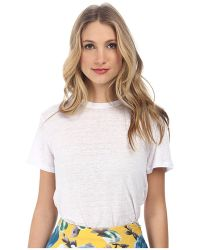 Marc By Marc Jacobs Carmen Jersey Short Sleeve Top - Lyst