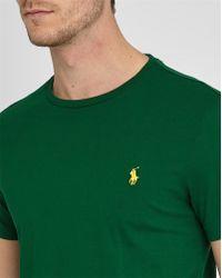 Polo Ralph Lauren   Green Pr Custom-fit T-shirt   Lyst