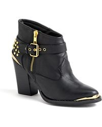 Matisse Kira Studded Ankle Boots - Lyst
