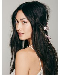 Serefina - Womens Floral Back Halo - Lyst