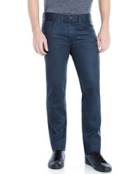 J Brand J Brand Coated Slim Tyler Jeans - Lyst