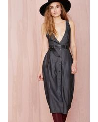 Nasty Gal Hard Werker Dress - Lyst