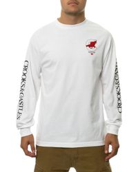 Crooks And Castles The Low Lives Ls Tee - Lyst