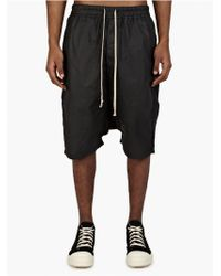 DRKSHDW by Rick Owens Men'S Black Boxer Pod Shorts black - Lyst