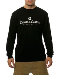 Crooks And Castles The Let Us Prey Ls Tee - Lyst