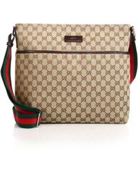Gucci Original Gg Canvas Messenger Bag beige - Lyst