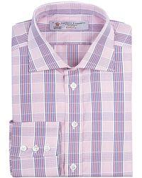 Turnbull & Asser Banded Check Shirt - Lyst
