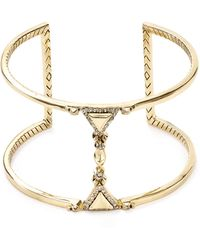 House of Harlow 1960 - 1960 Tres Tri Cut Out Cuff - Lyst