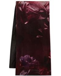Coast Filtered Fleur Silk Scarf - Multicolour