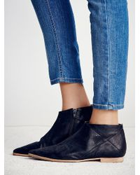 Free People Desert Rider Ankle Boot - Black
