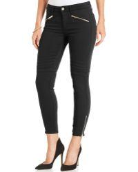 Joe's Jeans Ankle Legging Zipper Moto Jeans - Lyst