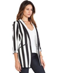 Mink Pink All Down To You Blazer - Lyst