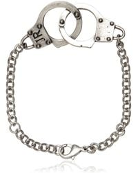 John Richmond | Handcuffs Bracelet | Lyst