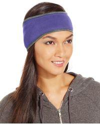 Style & Co. Style&co. Fleece Headband, Only At Macy's - Purple