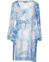 Emilio Pucci Short Dress - Lyst