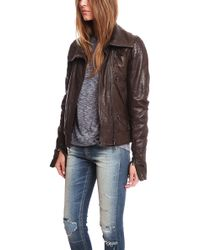 Hussein Chalayan - Nappa Leather Jacket - Lyst