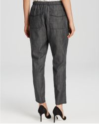 Eileen Fisher - The Fisher Project Slouchy Ankle Trousers - The Fisher Project - Lyst