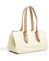 Louis Vuitton Preowned Perle Monogram Vernis Rosewood Avenue Bag - Lyst