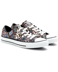 Converse Chuck Taylor All Star Low Printed Sneakers - Lyst