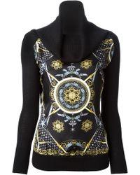 Versace Printed Sweater - Lyst