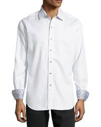 Robert Graham Woven Button-down Shirt - Lyst