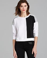 Aiko - Sweatshirt Emilie Colour Block - Lyst