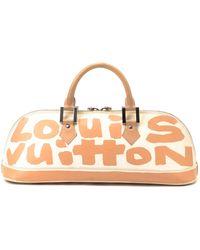Louis Vuitton Peach Handbag beige - Lyst
