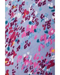 Tigerlily Grasse Floral Kimono - Blue