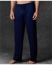 Polo Ralph Lauren Mens Supreme Comfort Knit Pajama Pants - Lyst