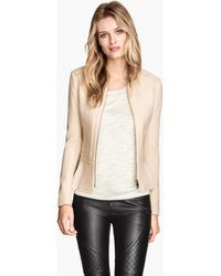 H&M Peplum Jacket - Lyst