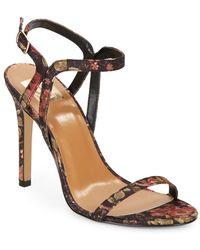 DV by Dolce Vita Orann Floral-Print Sandals - Lyst
