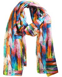 Klements Hiroshima Long Scarf - Multicolor