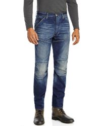 G-star Raw Loose Fit Whiskered Jeans - Lyst