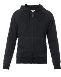 Bottega Veneta Zip-Front Hooded Sweatshirt - Blue