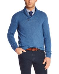 Hugo Boss T-tacconi  Silk and Cashmere Sweater with Shawl Collar - Lyst