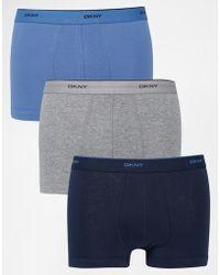 DKNY - 3 Pack Trunks - Lyst