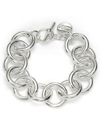 1AR By Unoaerre - Circle Link Bracelet - Lyst