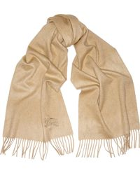 Burberry Brushed-cashmere Scarf - Lyst