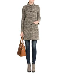 MICHAEL Michael Kors - Bowery Large Hobo Leather Tote - Brown - Lyst
